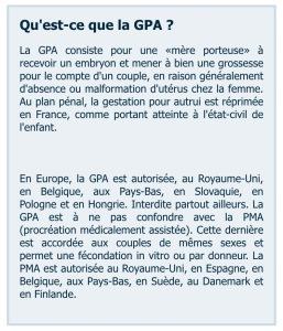 GPA PMA le parisien